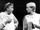 Richard with Frankie Howerd as Pseudolus